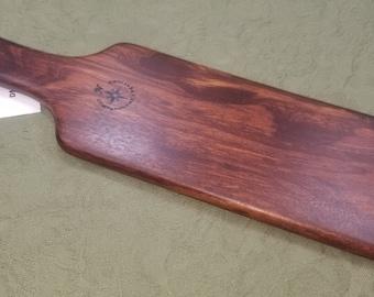 Peruvian Dalmata Miss Rose Paddles Exotic Hardwood  Spanking Paddle - BOE Large BDSM DM202