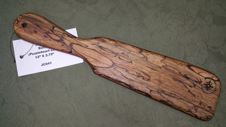 South American SPALTED Jicarillo and Purpleheart Layered Miss image 0