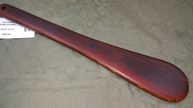 Cocobolo Miss Rose Paddles Spanking Paddle BOE BDSM Taffy image 0