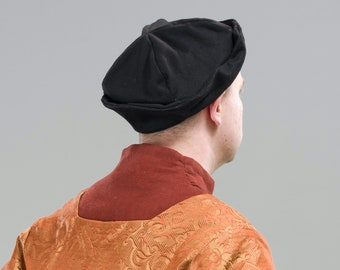 Early Tudor Men's Bonnet/Hat