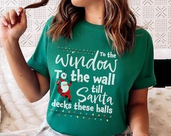 Santa Tee, Ugly Christmas Shirt, Christmas Tee, Holiday Party, Holiday Sweatshirt, Funny Christmas Sweatshirt, Winter Tee, Santa Sweatshirt