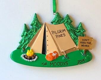 Tent City Ornament