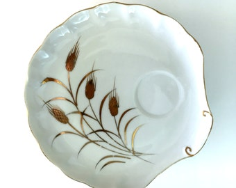 Vintage Shell Snack Plates - Set of 6
