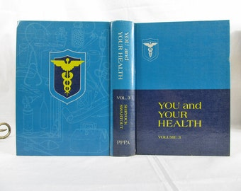 You And Your Health Volume 3 The Human Body Emergencies General Index 1970 Pacific Press Hardcover Book Harold Shryock, Hubert Swartout