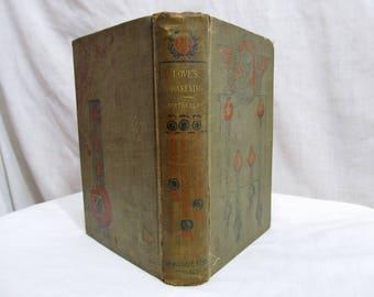 Love's Awakening by Bertha Clay, RARE Book circa 1800's Donohue Brothers, Romance, Rare Antique Book