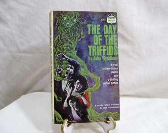 Day of the Triffids, John Wyndham, Fawcett Crest 1951 First Edition Science Fiction Classic Motion Picture B-Movie Book Cult Classic