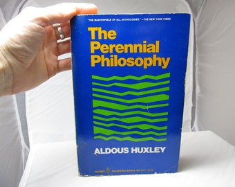 The Perrennial Philosophy Aldous Huxley Harper Colophon Books 1945 Paperback 2nd Printing Spirituality Religion