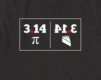 3edee1ea Pie 3.14 Shirt - pie shirt, pi shirt, baker shirt, funny science shirt, pi  day, gift idea, long sleeve shirt available - ID: 2404