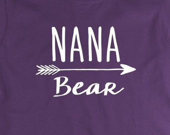 Nana Bear Shirt - mother's day, grandma, gift idea - ID: 2016