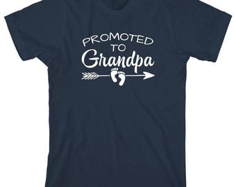 Promoted to Grandpa Shirt - gift idea for dad, grandpa, father's day - ID: 2025
