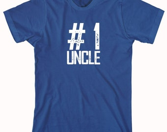 Number 1 Uncle Shirt - uncle gift idea - ID: 670