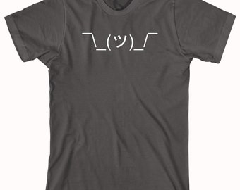 I Dunno (emoji) Shirt, free shrugs, shrug dealer, smiley face, gift idea - ID: 859