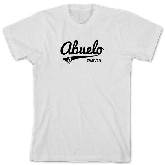 Abuelo Desde 2019 2019 2019 chemise - chemise abuelo, chemise de grand-père, grand-père espagnol, longs manches disponibles - ID: 2322 f19e93