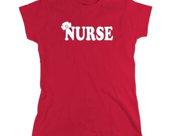 Nurse shirt, Gift Idea for Nurse Graduate, birthday gift, anniversary, cute nurse shirt - ID: 62