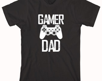 Gamer Dad Shirt - daddy, birthday, Christmas gift idea, new father, gamer dad - ID: 711