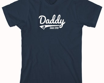 Daddy Since 2016 Shirt - daddy, fathers day, christmas gift idea - ID: 791