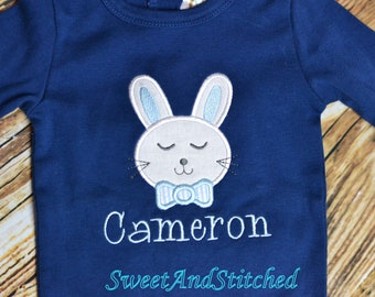 Baby Boys Easter shirt personalized, personalized baby boy 1st Easter Shirt, personalized Easter Outfit for Boys