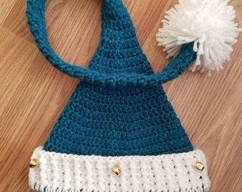 6ffed982ecef6 Pattern Santa Elf Hat
