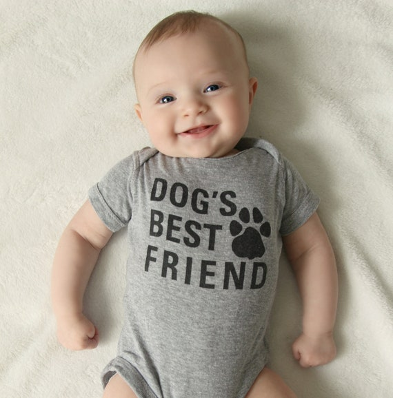 Details about  /Dogs Best Friend Puppy Pet Parent Owner Gift Unisex Baby Infant Romper Newborn