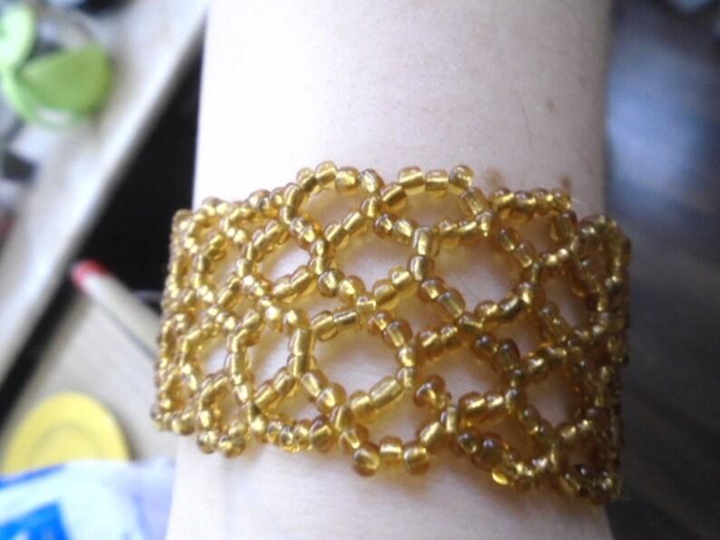 The bracelet Corn and cornflowers