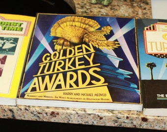 """Golden Turkey and other """"Bad Movies"""" Memorabilia Books"""