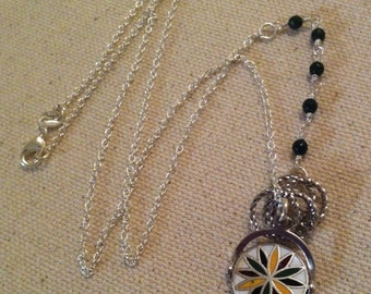 Spinner Sterling Charm Necklace