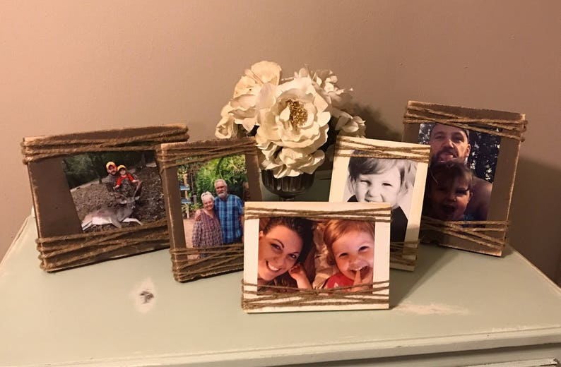 Event Gifts Mothers Day DISCOUNT for BUYING 10-4x6 Picture Frame Bulk Rate Family Photo Gift Rustic Picture Frames
