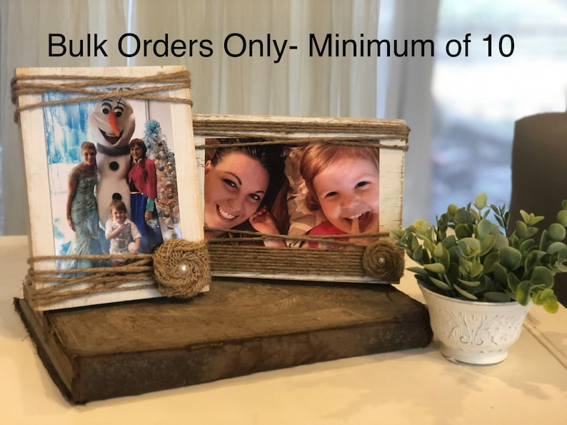Bulk Rate  Rustic Picture Frames  DISCOUNT for BUYING 10  image 0