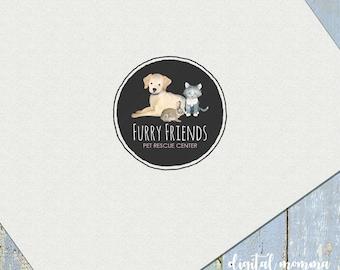 Dog Logo Etsy