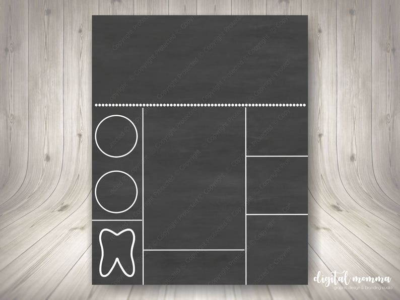 graphic relating to Chalkboard Stencils Printable named Printable Chalkboard Birthday Template, Person Professional Seek the services of, 8x10, 16x20