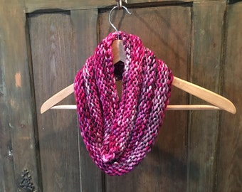 Hand-knit Chunky Cowl