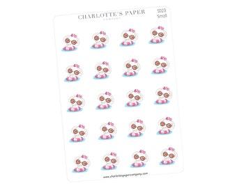 Swimming Planner Stickers / Planner Stickers / Erin Condren / Happy Planner /Traveler's Notebook / Agenda / Sun / Elephant Stickers / SD23