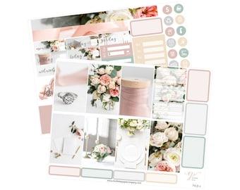 Big Happy Planner Stickers / Wedding Stickers / Planner Stickers /  BHP Planner Stickers / Weekly Sticker Kit / Photo Kit / PHL8