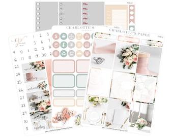 Planner Sticker Kits / Wedding Planner Stickers / Planner Stickers / Erin Condren Planner Stickers / Weekly Kit / Photo Kit / PH8