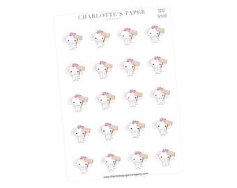 Sign Planner Stickers / Planner Stickers / Erin Condren / Happy Planner /Traveler's Notebook / Agenda / No Spend / Elephant Stickers / SD17
