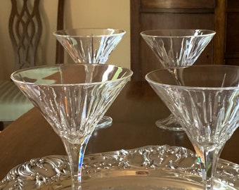 Reserve Anita,Martini Glasses, Set of 2 Lead Crystal Large Martini Glasses, Barware Gift Idea, Wedding Bridal Gift, Christmas Gift
