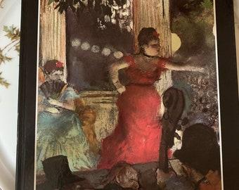 Degas Art Book, by Giovanni Carandente, Edgar Degas Hardback Book c. 1979, 58 Color Reproductions, Art Lover Gift Idea, Art Book Gift Idea