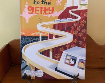 Going to the Getty, Children's Art Museum Book, by J.Otto Seibold and Vivian Walsh, c. 1997, Vintage Non Fiction Art for Children