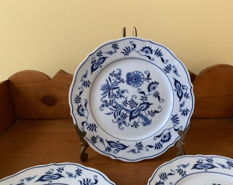 Blue Danube Salad Plate, Blue White China, Blue Danube Japan Scalloped Salad Plate, 3 Available Each Sold Separately