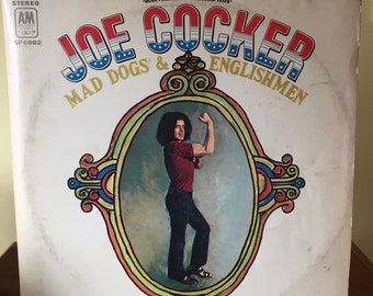 Joe Cocker Mad Dogs and Englishmen Vinyl Album 1970, 2 Record Set, SP 6002