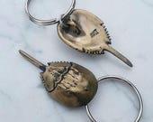 Baby Horseshoe Crab Keychain