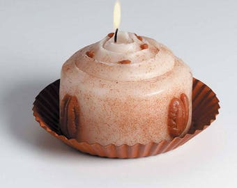 Candle Plate - Round - Rusted - 5 inches (dar655457)