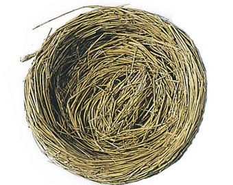 Bird Nest with Wire - 4 inches - 1 Nest (darb320247)