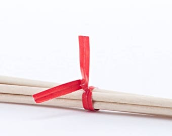 Red Paper Twist Ties - Pack of 100 (pm241030)