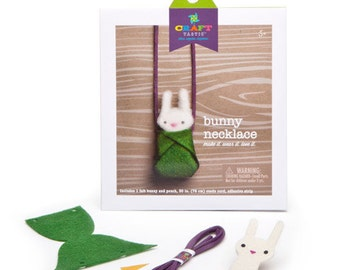 Kids Necklace Kit - Bunny Necklace by Craft-tastic(r)
