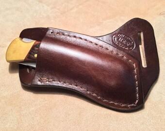 Pocket Knife Sheath Etsy