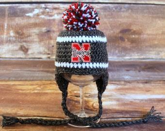 fec008a9 low cost nebraska huskers stocking hat 4df15 97674