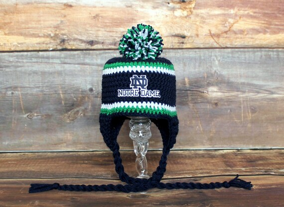 d45b58a4300 Notre Dame Inspired Knit Stocking Hat Newborn to Child