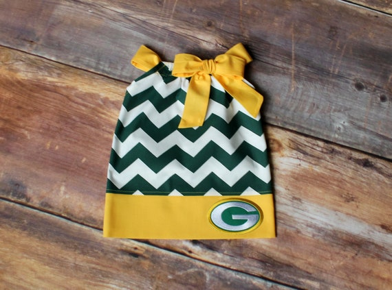 309247d4 Green Bay Packers Dress - Newborn baby girl outfit toddler child infant  pillowcase dress green yellow Wisconsin Pack football