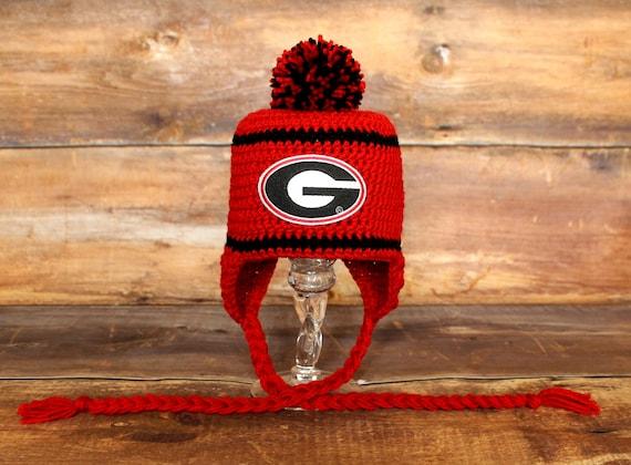 77cd94965cd03 Georgia Bulldogs Stocking Hat Newborn 0-3 mo 3-6 mo 6-12 mo